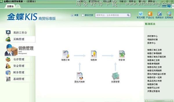 金蝶KIS商贸标准版V6.0免费版下载地址 金蝶软件 第3张