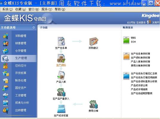 金蝶KIS生产版免费版_金蝶KIS旗舰生产版免费下载地址 金蝶软件 第3张